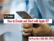 Call 1-800-694-2968 To Create An Apple ID? Apple ID Support