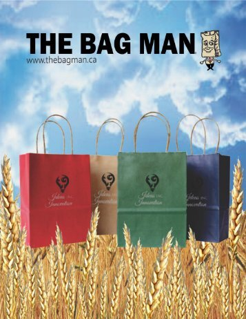 The Bag Man - 2018 Catalogue