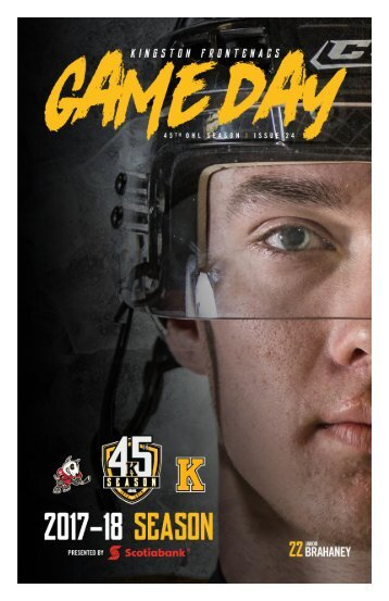 Kingston Frontenacs GameDay February 3, 2018