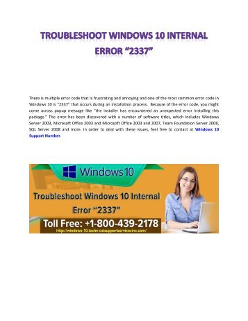 troubleshoot-Windows-10-internal-error-2337