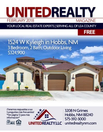 United Realty Magazine February 2018