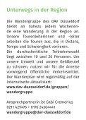 DAV Düsseldorf Wanderplan 1HJ 2018 - Seite 2