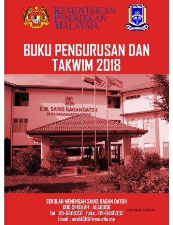 BUKU PENGURUSAN DAN TAKWIM 2018-SABDA