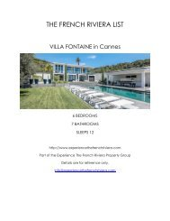 Villa Fontaine - Cannes