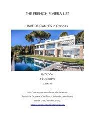 Baie De Cannes - Cannes