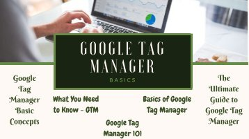 Google Tag Manager Basics