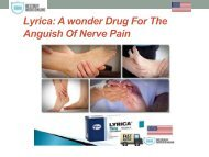 Lyrica A wonder drug for the anguish of nerve pain