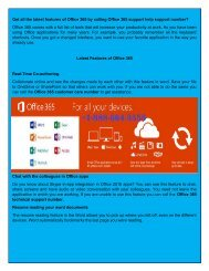 Microsoft office 365 Technical Support Number +1-888-664-3555