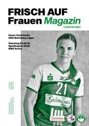 Ausgabe 5 - Saison 2017/2018 - FRISCH AUF Frauen Magazin