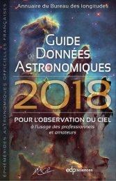 Guide de donnees astronomiques 2018