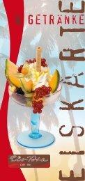 Eis- & Getränkekarte 2018