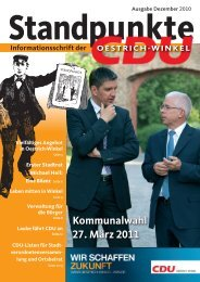 Erster Stadtrat Michael Heil - CDU Stadtverband Oestrich-Winkel