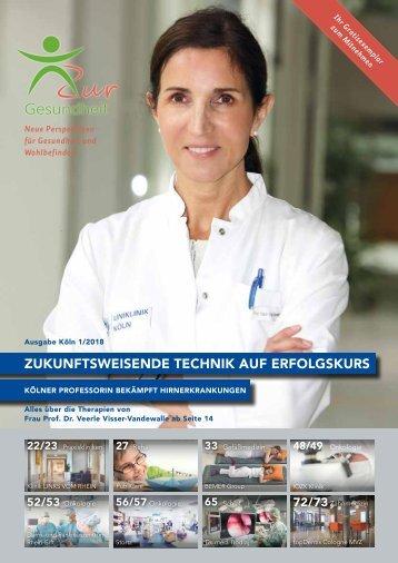Zur Gesundheit 2018-01 Köln