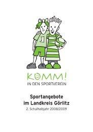 Sportangebote im Landkreis Görlitz