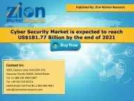 Global Cyber Security Market, 2015 – 2021