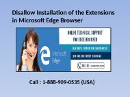 18889090535 Disallow Installation of Extensions in Microsoft Edge