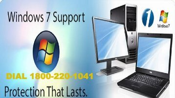 Windows 7 Tech Support Number 18002201041