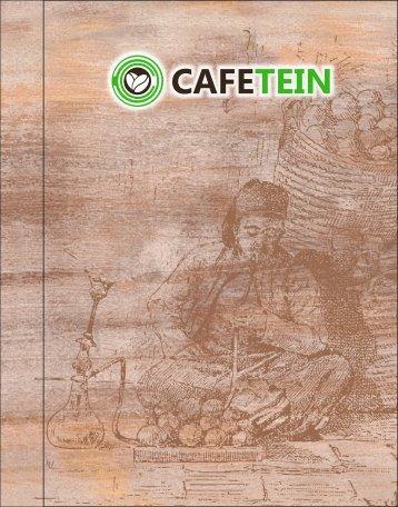 Cafetein Menu