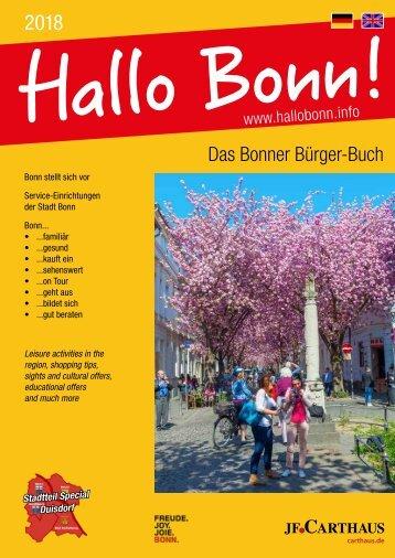 Hallo Bonn - Das Bonner Bürger-Buch