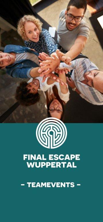 Final Escape Wuppertal - Findet euer passendes Event