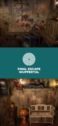 Final Escape Wuppertal - Unser aktuelles pop-up Game