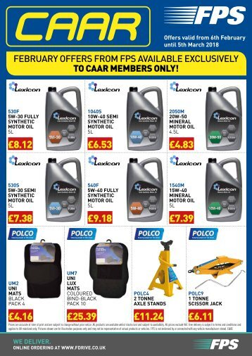 CAAR February Offer Flyer 2018 - Web