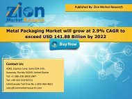 Metal Packaging Market