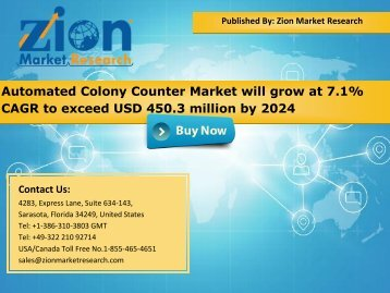 Automated Colony Counter Market