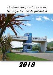Catálogo prestadores de Serviço Condomínio Praia de Fora Residence 2018