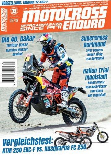 Motocross Enduro Ausgabe 03/2018