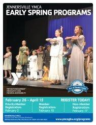 2018 Jennersville Early Spring Program Guide