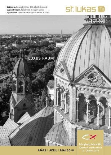 Gemeindebrief St. Lukas 2018/1