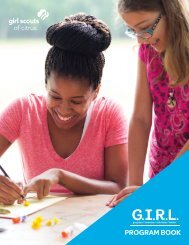 Citrus G.I.R.L. Program Book