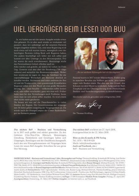 BuV - Business und Vermarktung Dez/Jan 2017-2018
