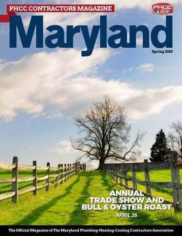 Maryland PHCC Contractors Spring 2018