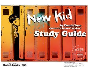 New Kid - Syracuse Stage