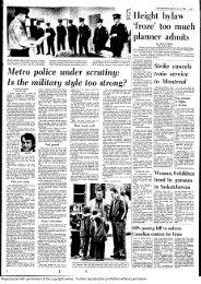 Metro Police Under Scrutiny in 1974