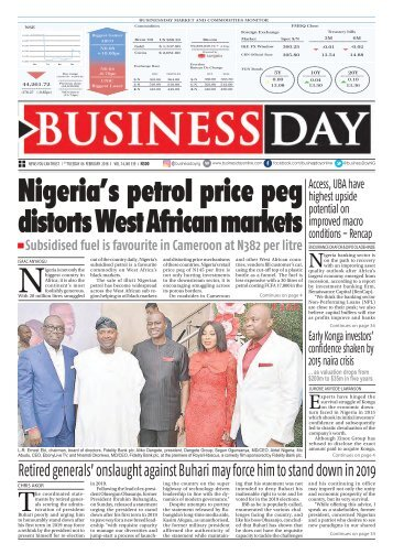 BusinessDay 06 Feb 2018