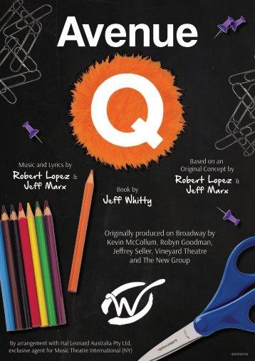 Avenue Q Program