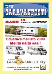 caravanposti 1 / 2009