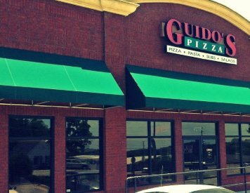 Guido's Pizza is located 5.7 miles to the east of Smile Shoppe Pediatric Dentistry, Springdale,  AR - 72762