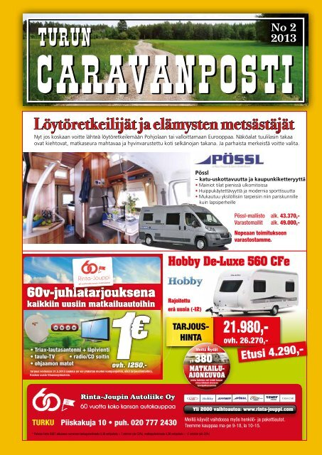 caravanposti 2 / 2013