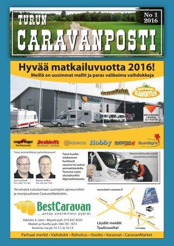 caravanposti 1 / 2016