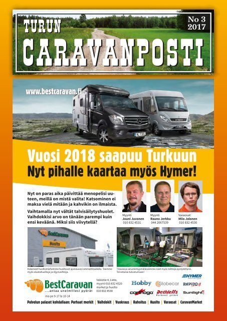 caravanposti 3 / 2017