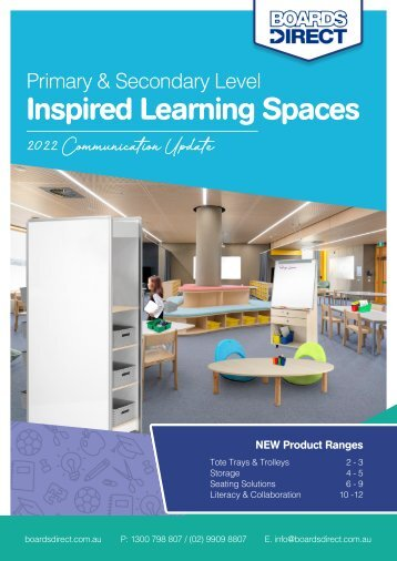 BOARDS DIRECT Back to School Essentials Catalogue 2018