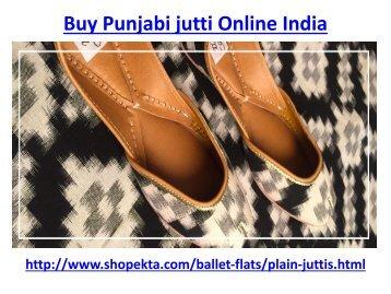 Buy Punjabi jutti Online India