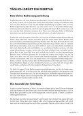 Leseprobe Täglich grüßt ein Feiertag - Seite 7