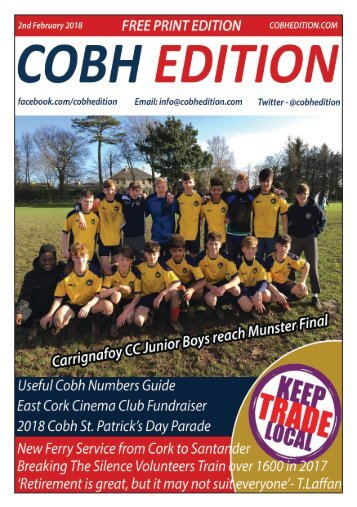 COBH EDITION 2ND FEBRUARY - DIGITAL VERSION