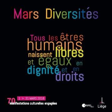 Mars Diversités 2018