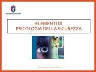 4 ELEMENTI DI PSICOLOGIA DELLA SICUREZZA (1)